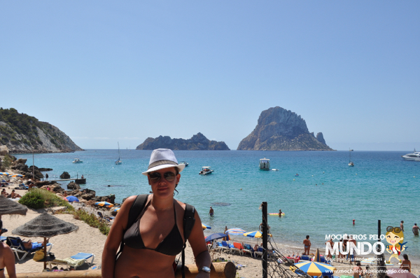 Cala D´Hort in Ibiza, Spain