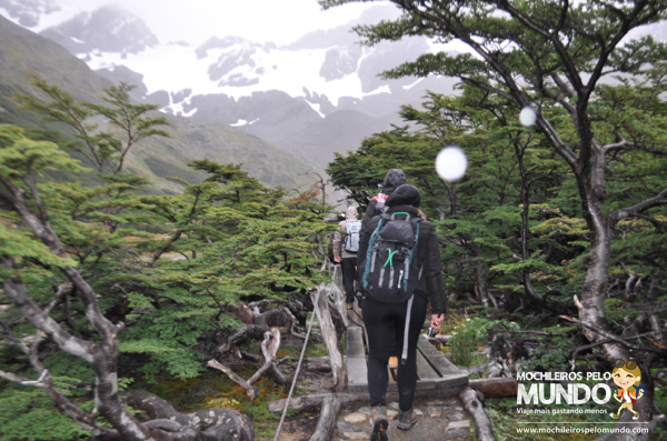 Mini-treking no Glaciar Martial